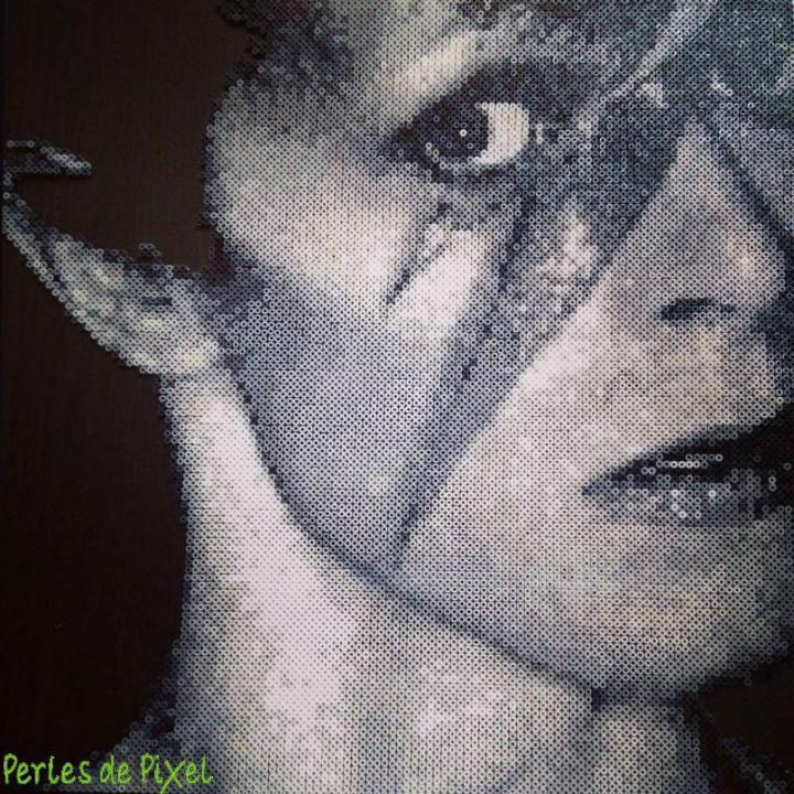 David Bowie pixelisé !