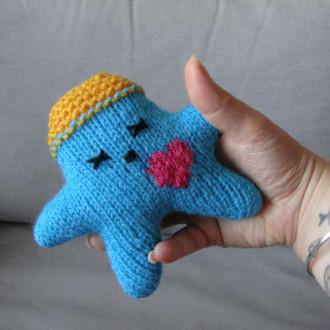 Nawak Tity - doudou tricoté à la main pour adultes et grands enfants