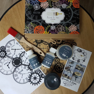 PAINT-IN'BOX Remonter le Temps - Atelier DIY n° 007