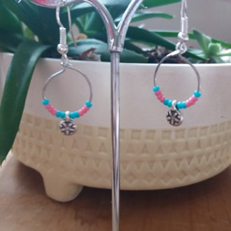 boucles d'orilles pendantes