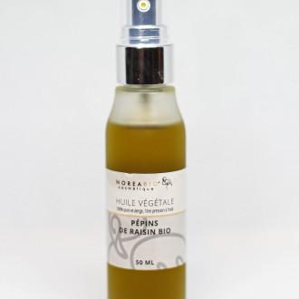 Huile végétale de pépins de raisin bio 50 ml