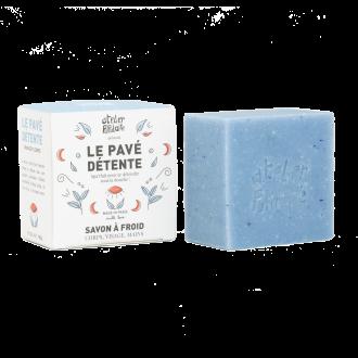 Le Pavé Détente 90g - Savon saponifié à froid biologique
