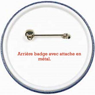 ça c'est le dos du badge en 3.8 cm ! Option 1