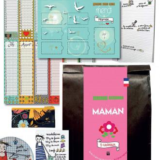 Pochette Surprise 5 Cadeaux de fête Noel et Anniversaire pour Maman - Idée Cadeau de Table fête des mères